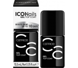 Catrice ICONails Gel Top Coat krycí lak na nehty 10,5 ml