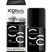 Catrice ICONails Gel Top Coat krycí lak na nehty 10,5 ml