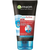 Garnier Skin Naturals Pure Active 3 in 1 activated carbon against blackheads 150 ml