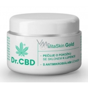 Dr.CBD VitaSkin Gold Cannabis Balm for Eczema and Psoriasis 30 ml