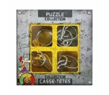 Albi Set of 4 Metal Puzzles Expert from 8 years old