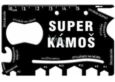 Albi Super Wallet Multi Tools 8.5 cm x 5.3 cm x 0.2 cm