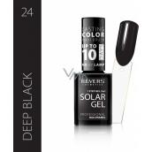 Revers Solar Gel gel nail polish 24 Deep Black 12 ml