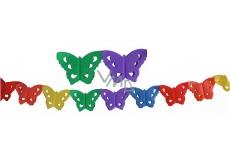 Butterflies garland 400 x 16 cm