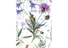 Albi Diary 2020 daily Meadow flowers 17 x 12.6 x 2.4 cm