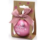 Nekupto Christmas balls Best mom 11 x 6 cm