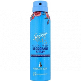 Secret Rosewater deodorant spray for women 150 ml