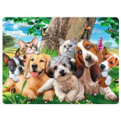 Prime3D postcard - Puppies 16 x 12 cm
