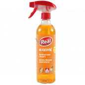 Real Kitchen active foam cleaner with a strong degreasing effect on grease, burns and settled dirt spray 550 g
