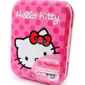 Hello Kitty Patches 20 pieces 4 kinds in metal box