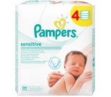 Pampers Sensitive wipes for sensitive skin of children 4 x 56 pieces