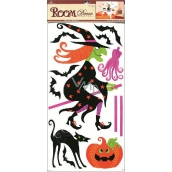 Room Decor Wall Stickers witch 69 x 32 cm