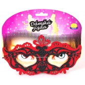 Albi Women's Riding Mask Red 1 piece