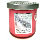 Heart & Home True enchantment Soy scented candle medium burns up to 30 hours 115 g