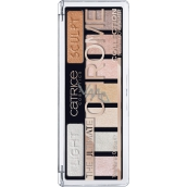 Catrice The Ultimate Chrome Collection Eyeshadow Palette palette of eye shadow 010 Heights and Lights 10 g