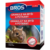 BROS granules for mice, rats and rats 140 g 4092