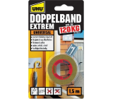 Uhu Doppelband Extrem 120 kg super strong double-sided adhesive tape for interiors and exteriors 1.5 m
