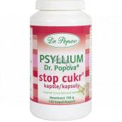 Dr. Popov Psyllium Stop Sugar Capsules 120 pieces 104 g