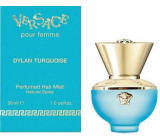 Versace Dylan Turquoise Hair Mist hair spray with spray for women 30 ml