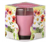 Emocio Garden Blossoms - Garden flowers scented candle glass 75 x 82 mm