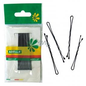 Abella Hairpin black medium 6 cm 10 pieces