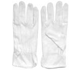 Spokar Gloves cotton with miniterčíky size 8 1 pair