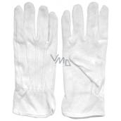 Spokar Cotton gloves with mini targets size 8, 1 pair