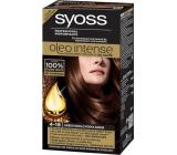 Syoss Oleo Intense Color barva na vlasy bez amoniaku 4-18 Hnědá moka