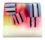 Bomb Cosmetics Liquorice - Candy Box Natural glycerine soap 100 g