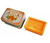 Le Blanc Cannele Orange přírodní mýdlo tuhé v krabičce 100 g