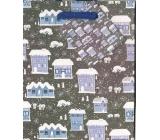 Nekupto Dárková papírová taška malá 14 x 11 x 6,5 cm vánoční 1200 40 WBS