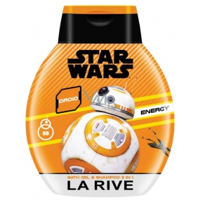 La Rive Star Wars Droid Energy 2 in 1 shower gel and shampoo for men 250 ml