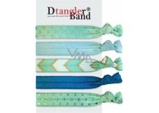 Dtangler Band Set Blue gumičky do vlasů 5 kusů