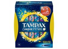 Tampax Compak Pearl Regular dámské tampony 18 kusů