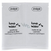 Ziaja Goat milk peeling + mask for hands 2x7ml 7227