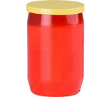 Cemetery Oil Candle Red Yellow Cap 29 hours 100 g