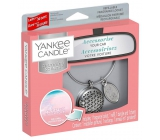 Yankee Candle Pink Sands - Pink Sands Basic set metallic silver car tags Charming Scents set Geometric 13 x 15 cm, 90 g