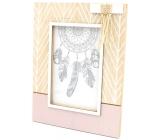Nekupto Home Decor Photo frame with tassel 17 x 22 cm