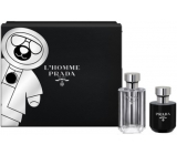 Prada L Homme Prada EdT 50 ml men's eau de toilette + 100 ml shower gel, gift set