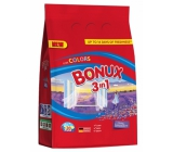 Bonux Color Caring Lavender 3in1 washing powder for colored laundry 20 doses of 1.5 kg