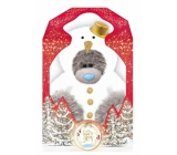 Me to You Teddy Bear Snowman 17 cm