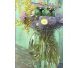 Nekupto Gift paper bag 32.5 x 26 x 13 cm Flowers 1890 40 KFL