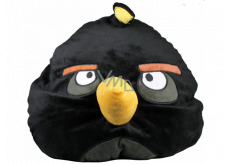 Angry Birds Relaxation pillow black 38 × 33 × 31 cm