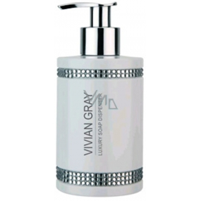 Vivian Gray Crystal White luxury moisturizing liquid soap 250 ml