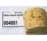 Korková zátka demižonová 32 x 38 / 34 25 l 020 +