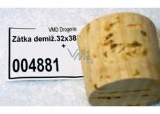 Demokon cork stopper 32 x 38 x 34, 25 l 020 +