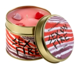 Bomb Cosmetics Fiery Passion A fragrant natural, handmade candle in a tin can burns for up to 35 hours