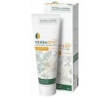 Herbadent Homeo bylinná zubní pasta s ženšenem, bez fluoru a mentholu 100 g