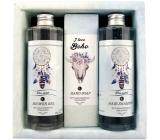 Bohemia Gifts Boho style & Gentleman Ulva lactuca seaweed extract Shower gel 250 ml + Toilet soap 145g + Hair shampoo 250 ml cosmetic set