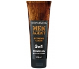 Dermacol Men Agent 3v1 Extreme Clean sprchový gel 250 ml tuba